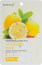 Духи, Парфюмерия, косметика Маска для лица с витаминами - Eunyul Natural Moisture Mask Pack Vitamin