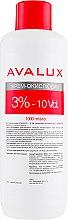 Духи, Парфюмерия, косметика Крем-окислитель для волос - Avalux 3% 10vol
