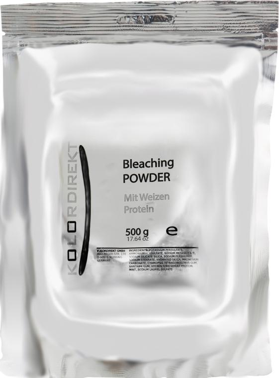 Осветляющая пудра с протеинами пшеницы, мятная - Kolordirekt Bleaching Powder Wheat Protein