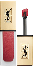 Духи, Парфюмерия, косметика Жидкая матовая помада - Yves Saint Laurent Tatouage Couture The Metallics Matte Stain (тестер в коробке)