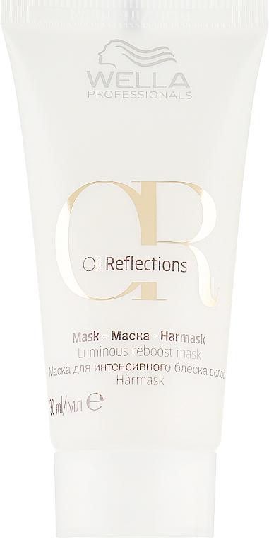 Маска для интенсивного блеска - Wella Professionals Oil Reflections Luminous Reboost Mask (мини)