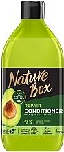 Духи, Парфюмерия, косметика Бальзам для восстановления волос и против секущихся кончиков с маслом авокадо холодного отжима - Nature Box Repair Vegan Conditioner With Cold Pressed Avocado Oil
