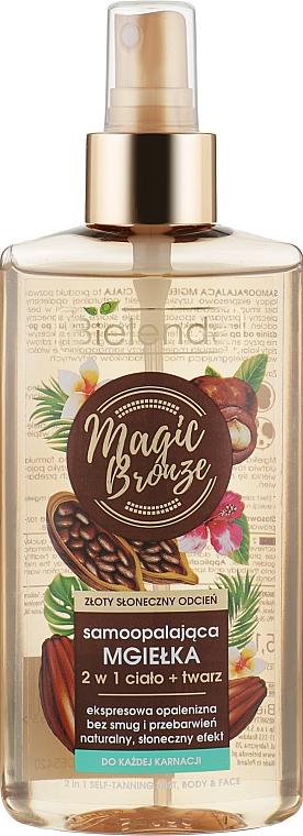 Спрей 2 в 1 для лица и тела - Bielenda Magic Bronze