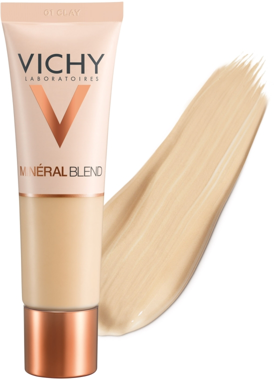 Тональный крем увлажняющий - Vichy Mineralblend Cream — фото N3