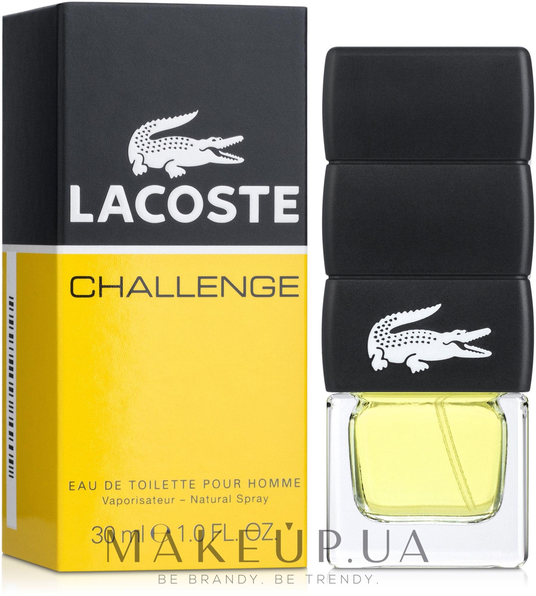 Lacoste Challenge - Туалетная вода — фото 30ml
