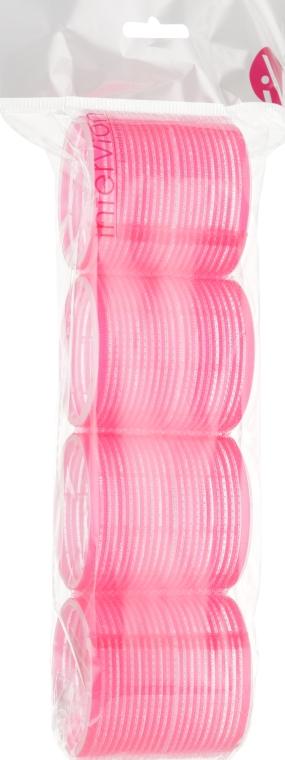 Бигуди с липучкой, розовые - Inter-Vion