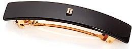 Духи, Парфюмерия, косметика Черная заколка-автомат - Balmain Black Barrette Pour Cheveux (M)