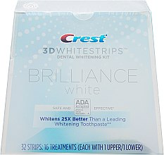 Духи, Парфюмерия, косметика Отбеливающие полоски для зубов - Crest 3D Brilliance White Whitestrips