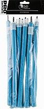 Духи, Парфюмерия, косметика Бигуди гибкие, 240мм, d12, голубые - Tico Professional