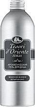 Духи, Парфюмерия, косметика Парфюмированный крем-гель для ванны, белый мускус - Tesori d'Oriente