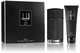 Духи, Парфюмерия, косметика Alfred Dunhill Icon Elite - Набор (edp 100ml + s/g 90ml)
