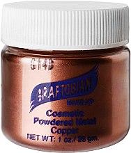 Духи, Парфюмерия, косметика Пудра с металическим пигментом, медная - Graftobian Powdered Metal Cooper