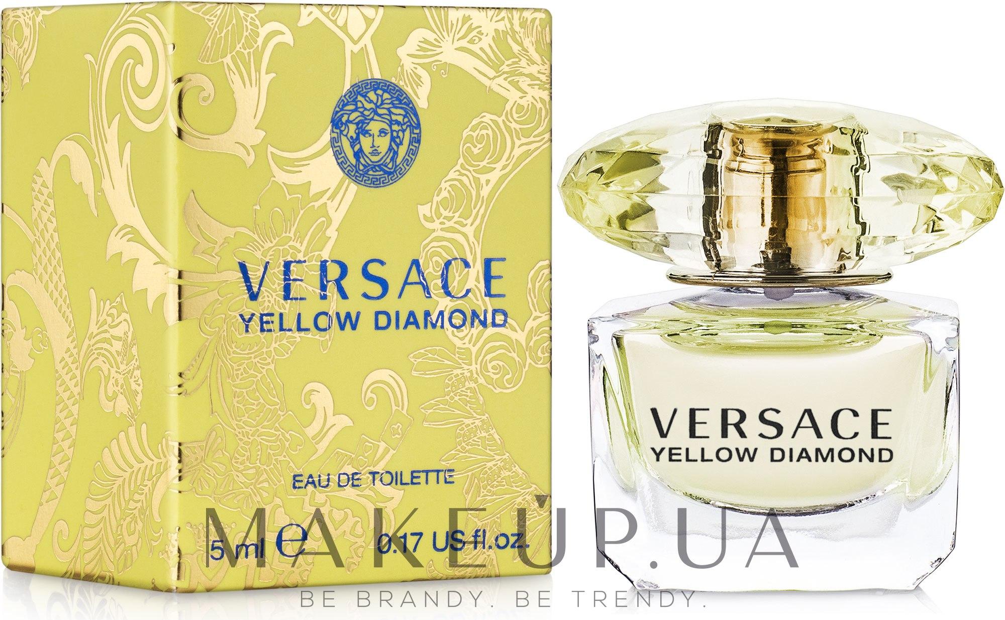 Versace Yellow Diamond - Туалетная вода (мини) — фото 5ml ebebdd5161705