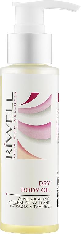 Сухое масло для тела - Riwell Dry Body Oil