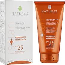 Духи, Парфюмерия, косметика Солнцезащитный крем для лица и тела - Nature's I Solari Sun Cream Spf 25