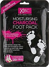 Духи, Парфюмерия, косметика Маска для ног с активированным углём - Xpel Marketing Ltd Charcoal Foot Pack