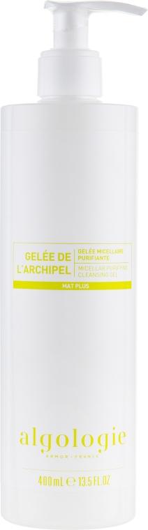Очищающий мицеллярный гель для жирной и смешанной кожи - Algologie Mat Plus Micellar Purifying Cleansing Gel