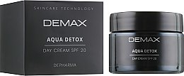 Духи, Парфюмерия, косметика Детокс аква дневной крем - Demax Aqua Detox Cream Spf20