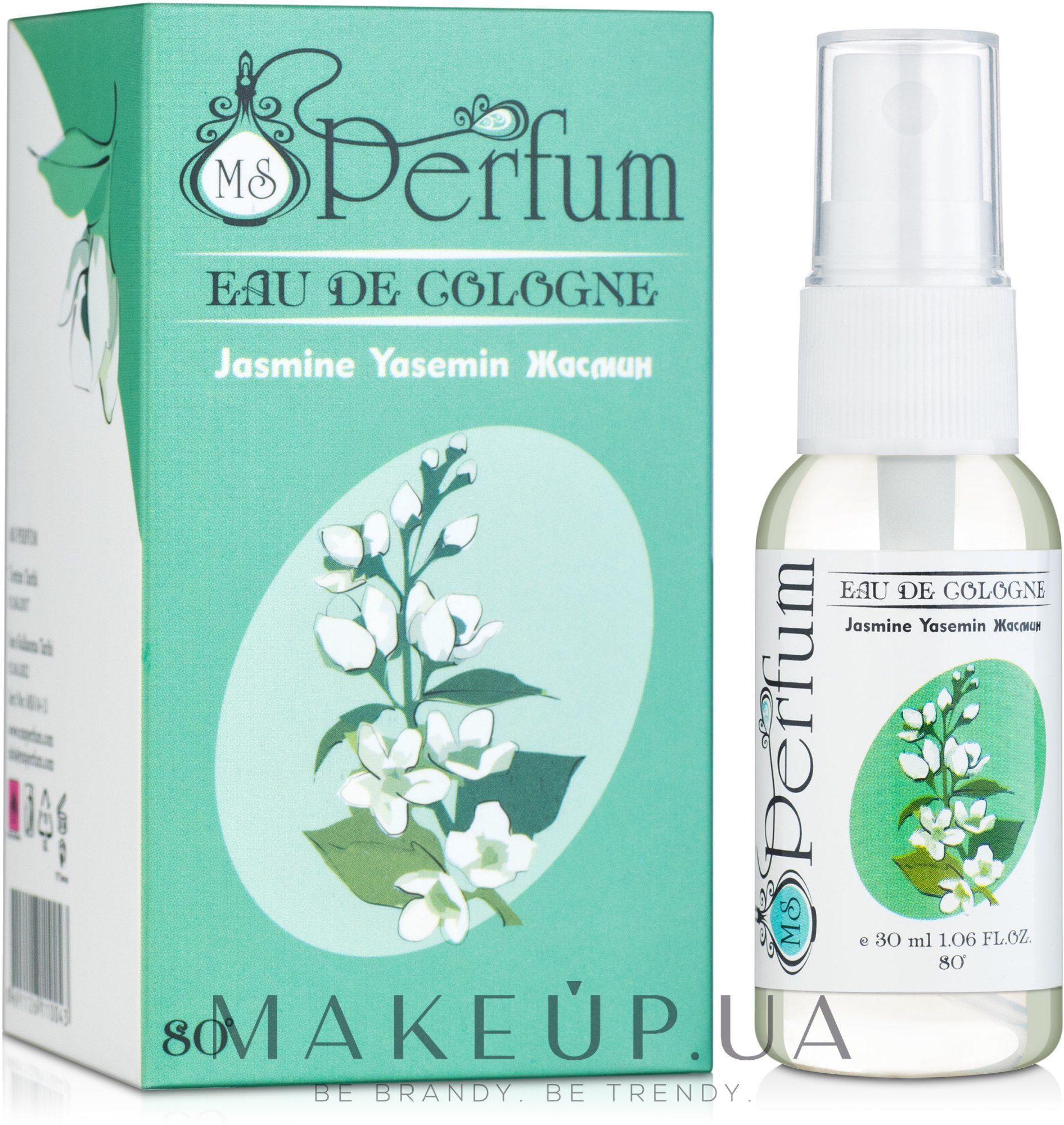 MSPerfum Jasmine - Одеколон — фото 30 ml