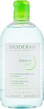 Мицеллярный лосьон - Bioderma Sebium H2O Micellaire Solution — фото N5