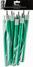 Духи, Парфюмерия, косметика Бигуди гибкие, 180мм, d16, темно-зеленые - Tico Professional