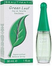 Духи, Парфюмерия, косметика Beautimatic Green Leaf - Туалетная вода