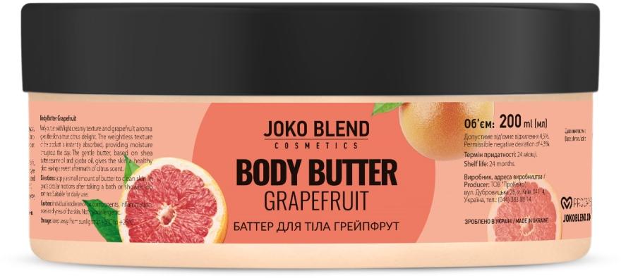 Баттер для тела - Joko Blend Grapefruit Body Butter