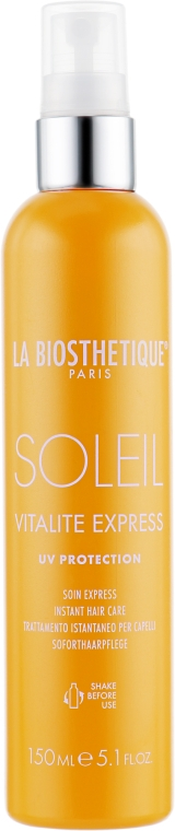 """Двухфазный кондиционер спрей """"Защита от солнца"""" - La Biosthetique Methode Soleil Vitalite Express Cheveux"""