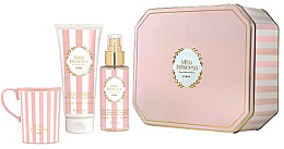 Духи, Парфюмерия, косметика Pupa Miss Princess Kit Large White Tea - Набор(sh/milk/200ml + scented/water/150ml+cup)