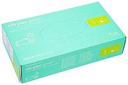 Духи, Парфюмерия, косметика Перчатки нитриловые, смотровые, зеленые, размер S - Mercator Medical Nitrylex Green