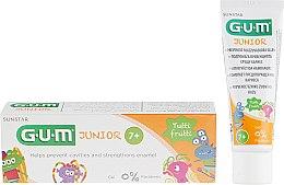 Духи, Парфюмерия, косметика Зубная паста-гель для подростков со вкусом тутти-фрутти - G.U.M Junior Tutti-Frutti