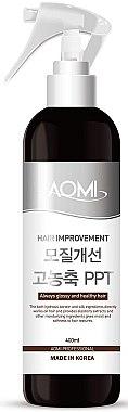 Термозащитный восстанавливающий спрей для волос - Aomi Hair Improvement