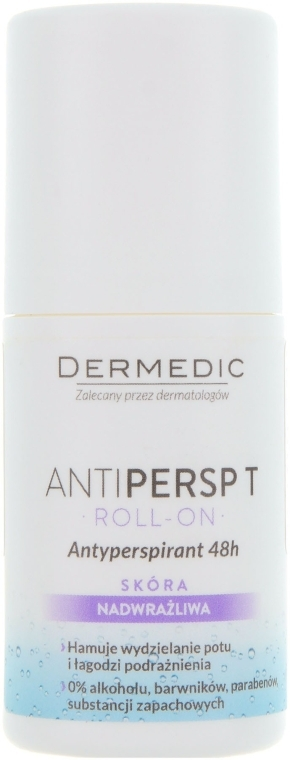 Дезодорант-ролик - Dermedic Antipersp T 48h Anti-Perspirant Deodorant