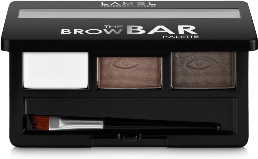 Палетка для бровей - Lamel Professional The Brow Bar Palette