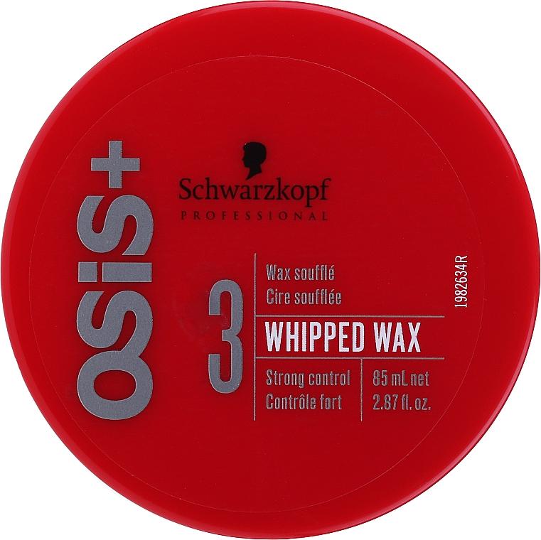 Віск-суфле для волосся - Schwarzkopf Professional Osis+ Whipped Wax Wachs Soufle 3 — фото N1