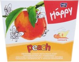 Духи, Парфюмерия, косметика Салфетки универсальные, peach - Bella Baby Happy