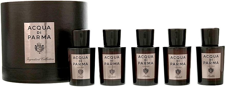Acqua Di Parma Ingredient Collection - Набор (edc/5x20ml)