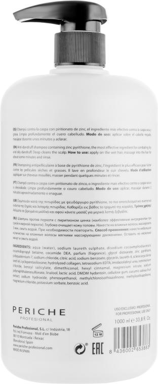 Шампунь против перхоти - Periche Professional Treatment Kode KSPA Shampoo Dandruff — фото N2