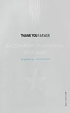 Духи, Парфюмерия, косметика Антивозрастная маска против тусклости для лица - Thank You Farmer Saccharomy Brightening Star Mask