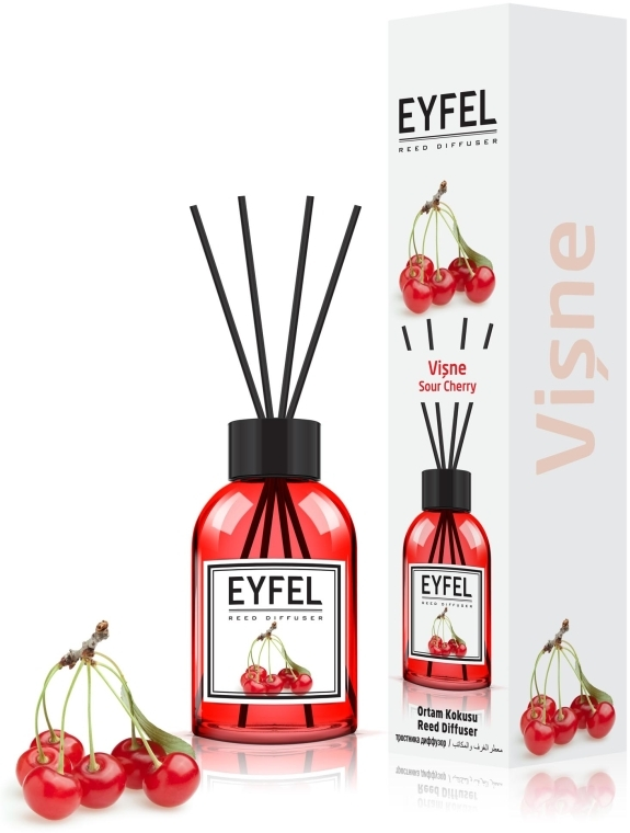 "Аромадиффузор ""Вишня"" - Eyfel Perfume Reed Diffuser Cherry"