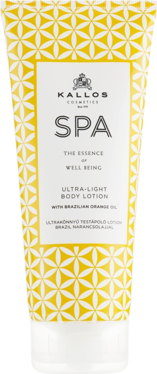 Лосьон для тела - Kallos Cosmetics SPA Ultra-Light Body Lotion