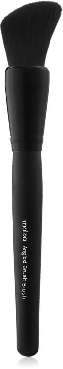 Кисть для румян и бронзатора №23 - Malva Cosmetics Angled Blush Brush