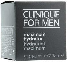 Духи, Парфюмерия, косметика Увлажняющий гель-крем - Clinique Skin Supplies For Men Maximum Hydrator