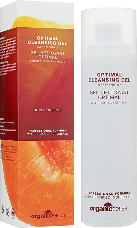 Оптимально очищающий гель для лица - Organic Series Optimal Cleansing Gel