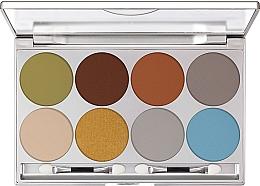 Духи, Парфюмерия, косметика Палетка теней для век - Kryolan Dermacolor Light Eye Shadow Palette 8 Colors