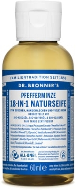 "Жидкое мыло ""Мята"" - Dr. Bronner's 18-in-1 Pure Castile Soap Peppermint"