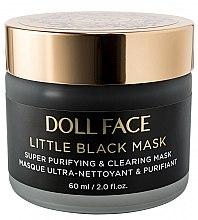 Духи, Парфюмерия, косметика Суперочищающая черная маска для лица - Doll Face Super Purifying & Clearing Little Black Mask