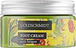 Духи, Парфюмерия, косметика Крем для ног от усталости - Goldschmidt