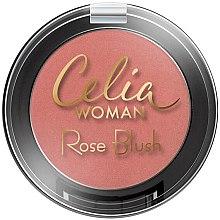 Духи, Парфюмерия, косметика Румяна для лица - Celia Woman Rose Blush