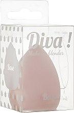 Духи, Парфюмерия, косметика Спонж для макияжа, бежевый - Sibel Diva Make Up Blender
